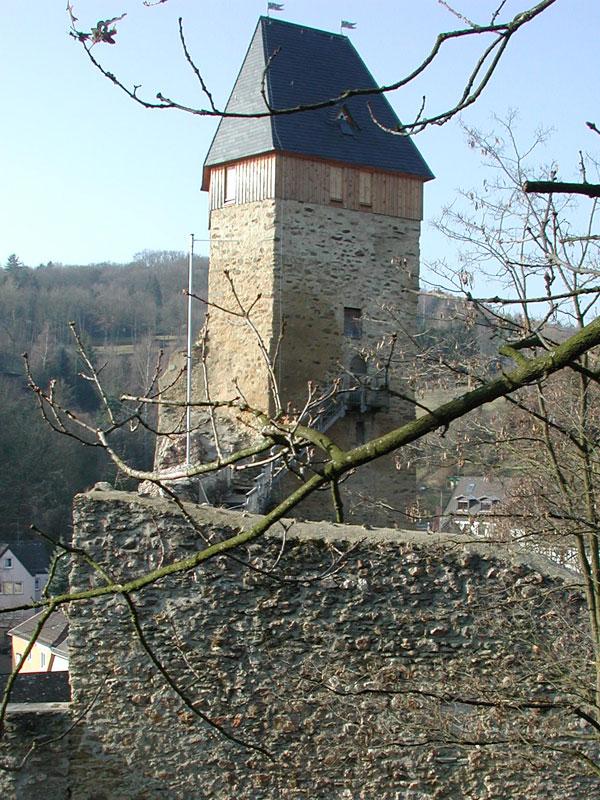 Burg im Herbst