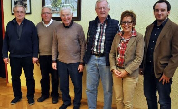 Vorstand des Burgvereins