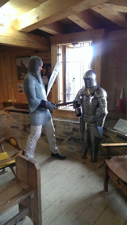 Die ersten Besucher der Burg in diesem Jahr hatten …